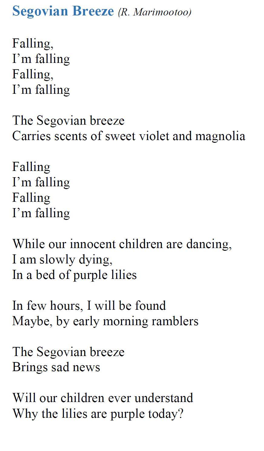 Segovian breeze